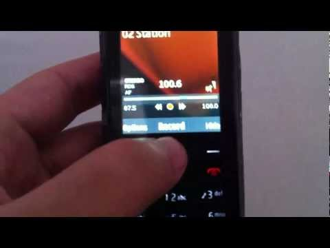 Nokia X2-02 - How to record from radio