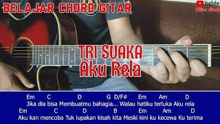 Tri Suaka - Aku Rela (TUTORIAL CHORD MUDAH)
