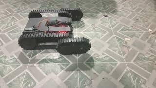 "Test small robot ""prototype"" track syatem"