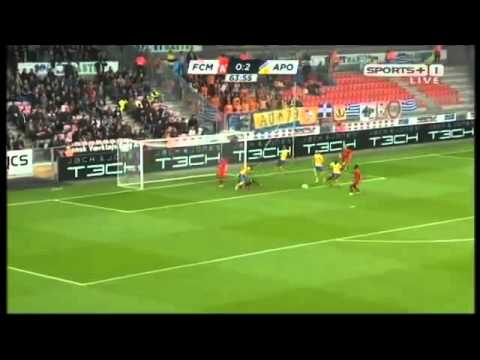 FC Midtjylland 1-2 APOEL [28.07.15] All Highlights Champions League