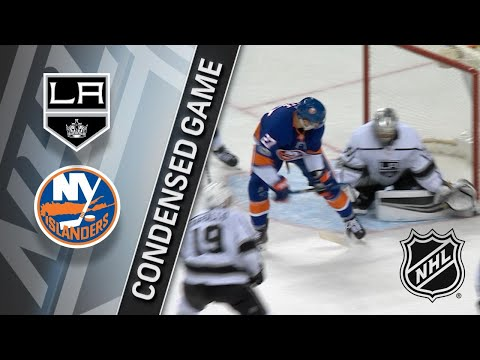 12/16/17 Condensed Game: Kings @ Islanders