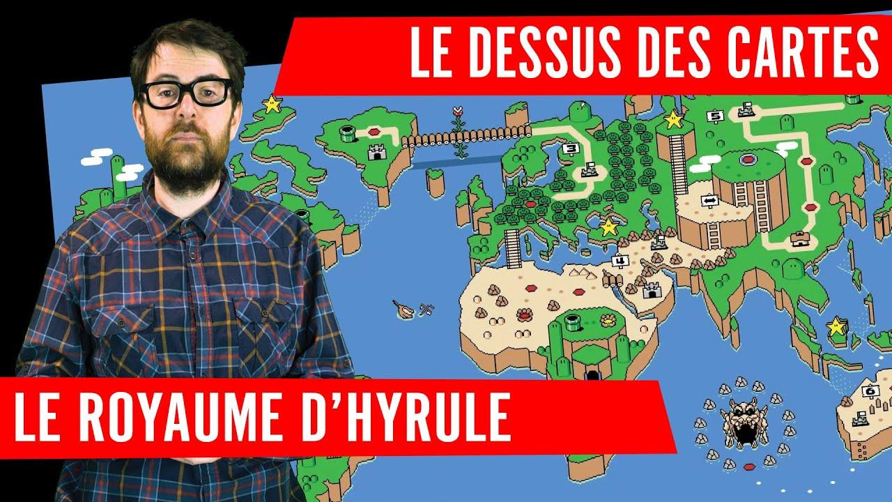 Les dessus des cartes - Le royaume d'Hyrule