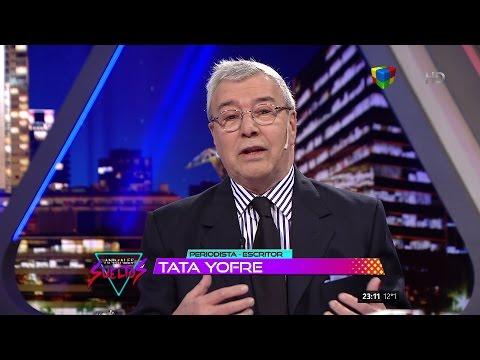 """J.B.""""Tata"""" Yofre sobre su libro """"Puerta de Hierro"""" en """"Animales sueltos"""" de A.Fantino - 16/10/15"""