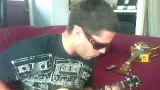 ukulele picking cover 2pac i aint mad at cha tupac by bob marleys son