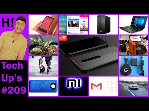 Tech Up's #209- Mi 6X, Galaxy S9 Mini, Gmail Redesign, Robo Jobs, 4K Android Tv, Moto Mod, No Diesel