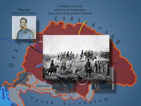 Az 1848/49-es szabadságharc és forradalom eseményei