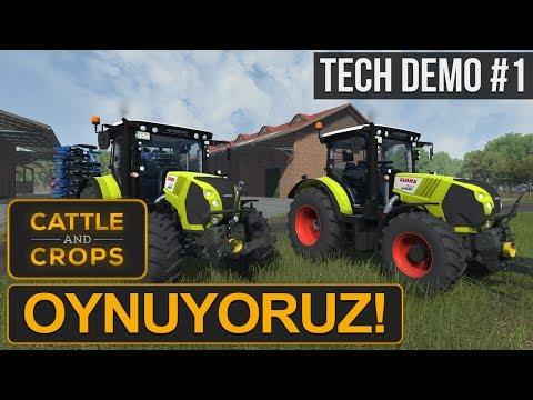 SONUNDA! Cattle & Crops Tech Demo - İnceleme/Oynanış