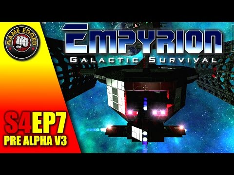 Empyrion Galactic Survival - Boarding The Alien Space Station - S4EP7 GamePlay