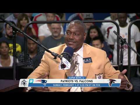 Pro Football Hall of Famer Derrick Brooks Gives His Super Bowl 51 Prediction - 2/2/17
