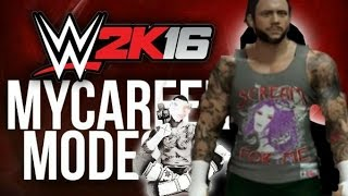 wwe2k16 my career PT2 no commentary