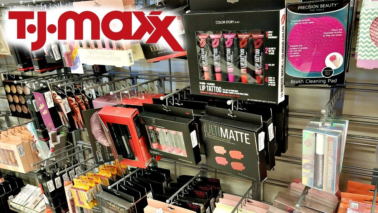 Shop With Me Tj Maxx Makeup January Beauty Finds 2018