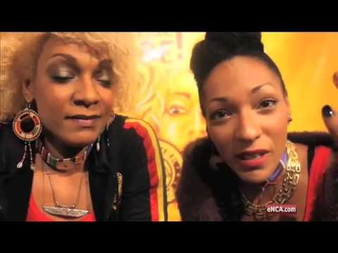 Off the cuff interview with Les Nubians