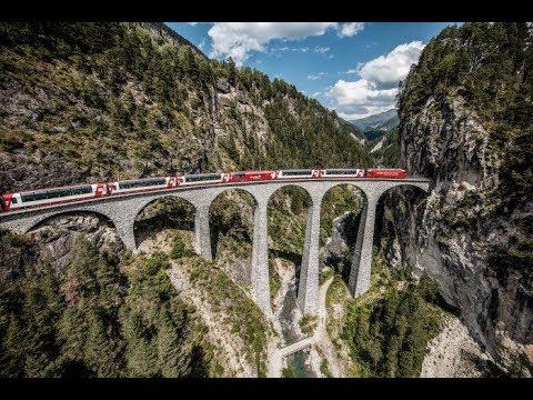 Glacier Express, Switzerland - Scenic Train Ride: HappyRail