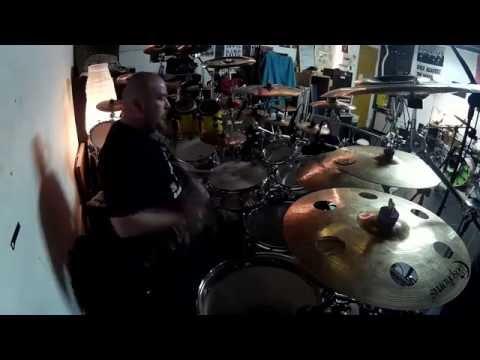 "David Fernández ""Darwin"" Drums Sound Demo / Warm up [Sound and video by Juan Fontán]"