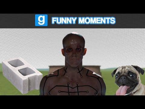 Garry's Mod Ragdoll Combat- Deadpool, Bricks, & Sore Losers (Garry's Mod Funny Moments)