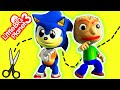 Baldi's Basics and Sonic The Hedgehog Cutoff Line - LittleBigPlanet 3 | EpicLBPTime