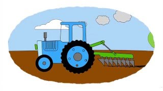Macchine agricole nomi for Blaze cartoni in italiano