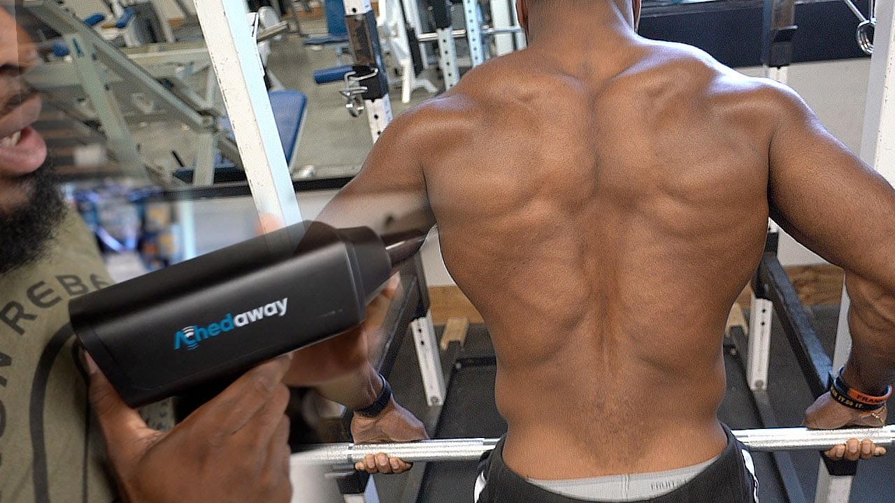 GET A SHREDDED BACK WITH A MACHINE THAT YOU NEVER USED | Achedaway