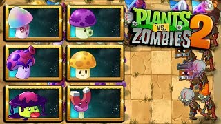 EQUIPO DE SETAS - Plants vs Zombies 2