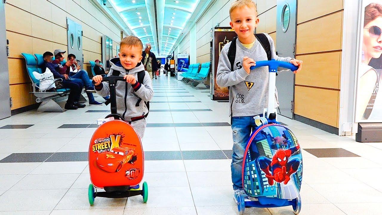 Vlad and Nikita New Family Tour