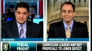 Debt Commission Crazy Cuts - MSNBC w/ Cenk