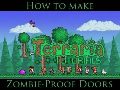 sc 1 st  YouTube & Terraria Tutorials ~ Episode 1 ~ Zombie-Proof Doors - YouTube pezcame.com
