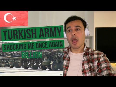 ITALIAN Reaction to 🇹🇷 Turkey Armed Forces ⚔️ [Military Power]