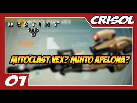 Destiny: Crisol Multiplayer #1 - Testando a Arma Mais Apelona do Jogo!!! Mitoclasta Vex [ Pre Patch]