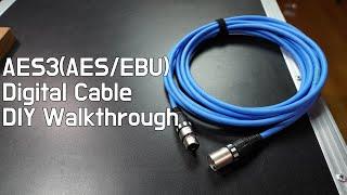 꼼꼼하게 AES/EBU 디지털 케이블을 만들어 보자