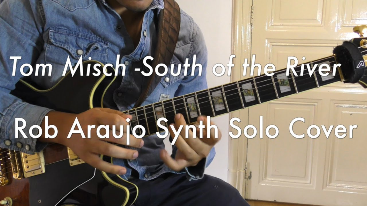 Tom Misch - South Of The River Synth Solo Cover w/ Backing Track