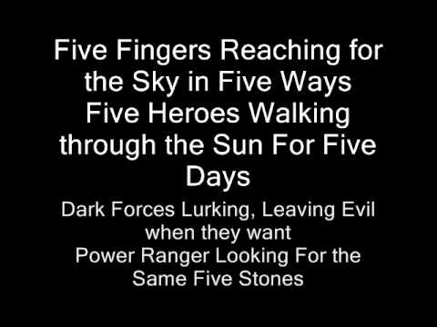 Power Rangers Operation Overdrive Theme Song With Lyrics ...