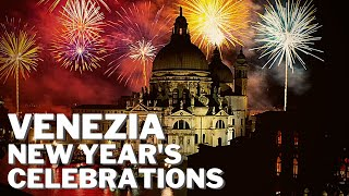 NEW YEAR'S CELEBRATIONS IN ITALY 🎆 VENICE WELCOMES 2020 WITH AN AMAZING FIREWORKS SHOW! 🎆