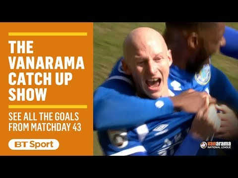 Vanarama National League Highlights: Matchday 43