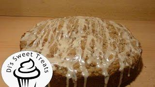 Pumpkin Cinnamon Streusel Coffee Cake- Di's Sweet Treats