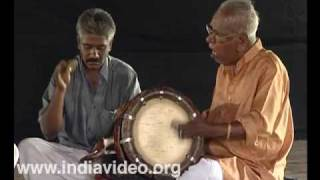 Thakil melam, thakil, traditional, percussion, instrument, orchestra, music, drum, Tamil Nadu, India