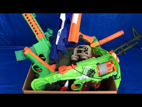 Toy Weapons Box of Toys Toy Guns for Kids Nerf Guns Military Toys