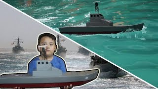HOW TO MAKE BIG RC BOAT