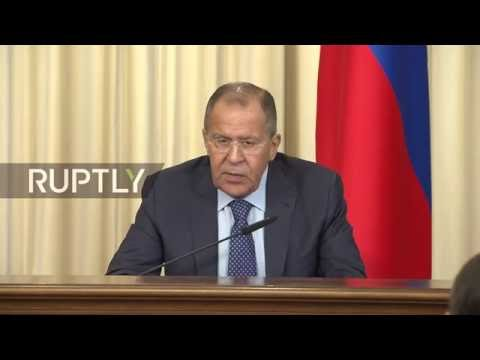 LIVE: Lavrov and Cambodian FM hold press conference following meeting in Moscow