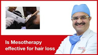 Is Mesotherapy effective for hair loss | HairMD, Pune