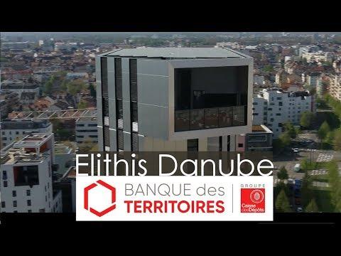 La 1ère tour à énergie positive au monde est en France : découvrez Elithis Danube à Strasbourg !