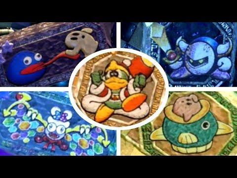 Kirby Star Allies - All Secret Character Murals