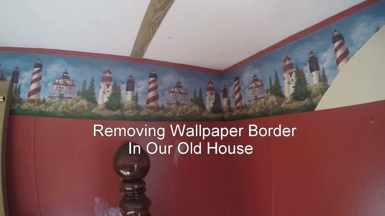 Taking Down Wallpaper Border