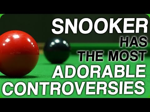 Snooker has the Most Adorable Controversies