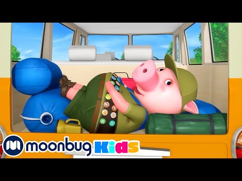 Going Camping Song   LBB Songs   Sing with Little Baby Bum Nursery Rhymes  Moonbug Kids