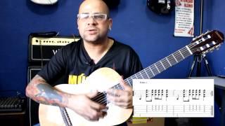 Ritmo Pop  nº 2 em compasso 4/4 - Prof Juninho Abrão