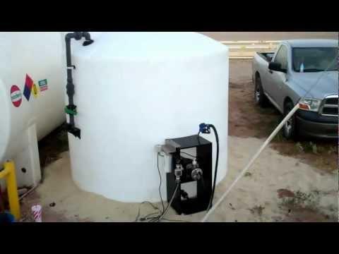 2,500 Gallon Vertical DEF Tank Package | 866-866-8611
