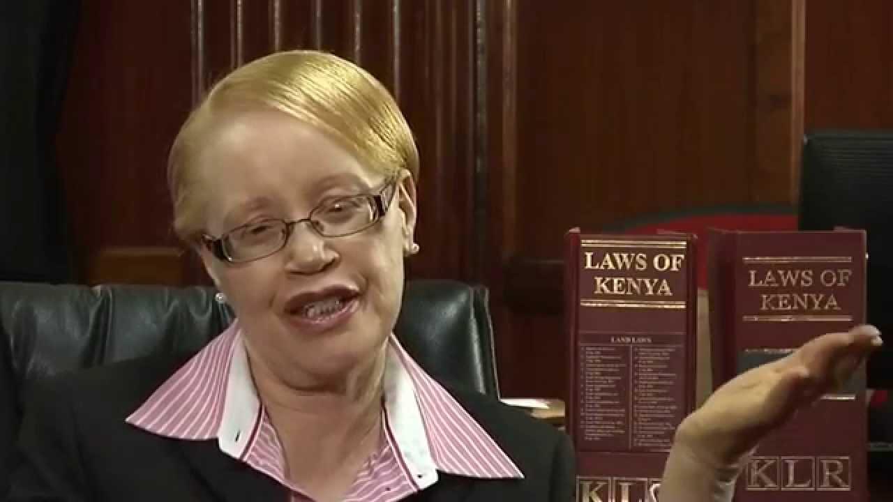 Image result for albinism judge kenya