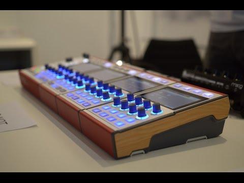 Dasz Instruments Alex Synthesizer @ Musikmesse 2016