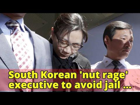 South Korean 'nut rage' executive to avoid jail time: reports