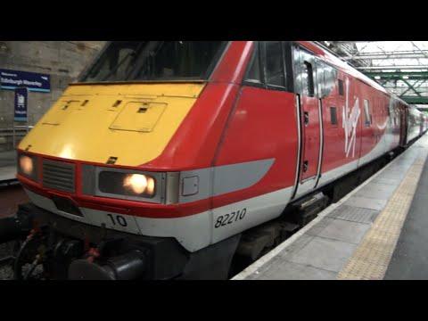 New Virgin Trains EC First Class Experience from Edinburgh Waverly to London Kings Cross